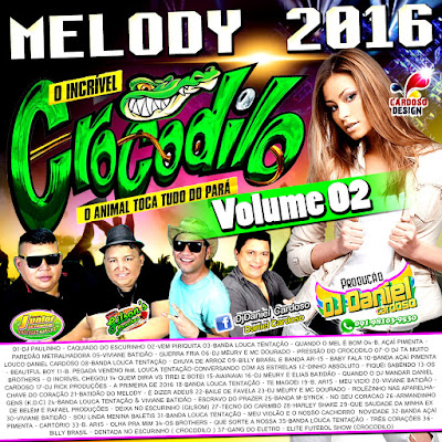 CD CROCODILO MELODY 2016 VOL.02