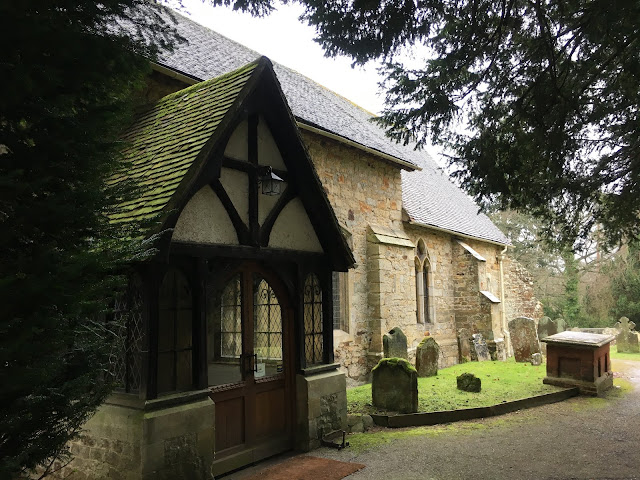 St Peters Church Hever Castle Kent UK