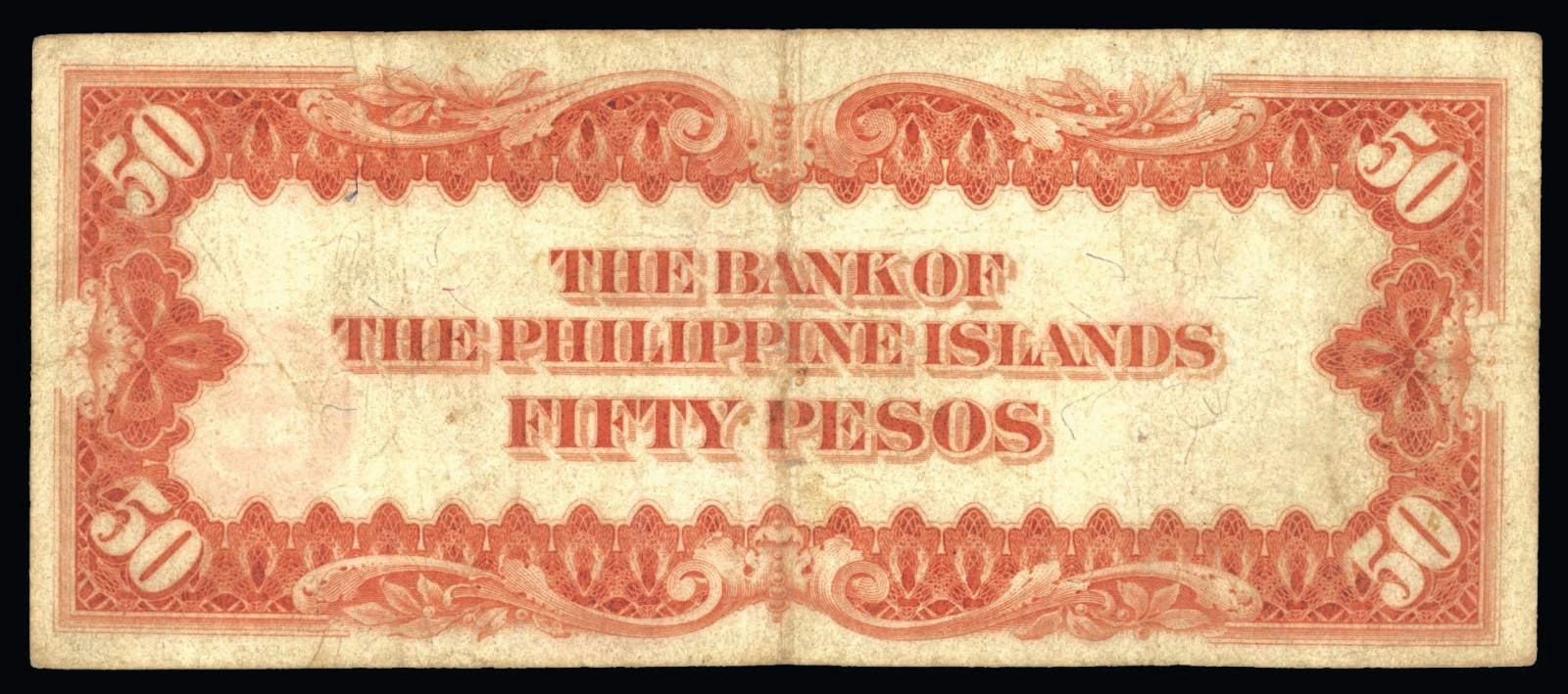 THE BANK OF THE PHILIPPINE ISLANDS - FIFTY PESOS
