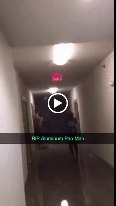 Aluminium Pan Man
