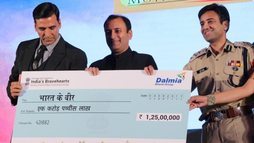 Bharat Ke Veer: Akshay raised Rs. 7 crore in just one hour
