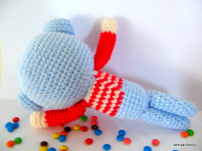 Norah the Sleeping Bear amigurumi pattern - Amigurumipatterns.net | 300x400