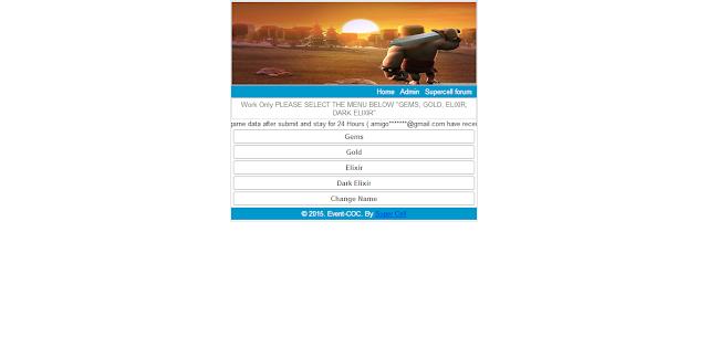 Download Script Phising COC