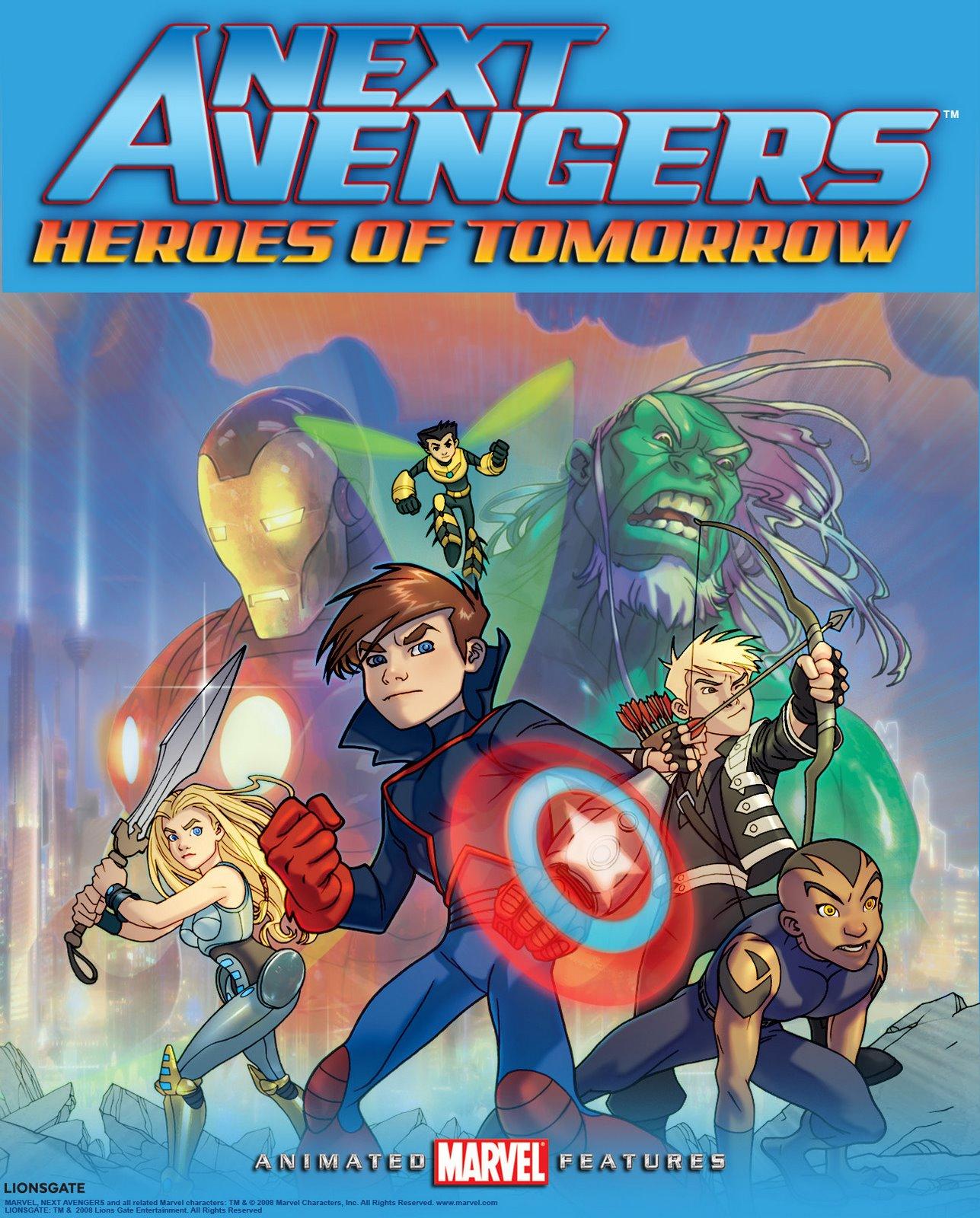 download film avengers heroes of tomorrow 2008  anime id
