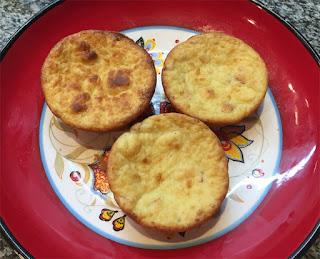 Muffins de queso y panceta