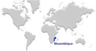 image: Mozambique Map location