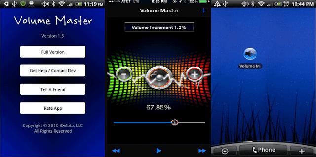 رفع الصوت على الحاسوب والهاتف بأكثر من % 500 مع Volume Master