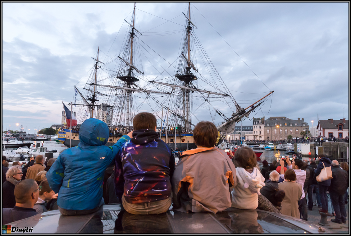 PHOTOS ARMADA 2019 ROUEN - Dimitri Photographies - Escale de l'HERMIONE CHERBOURG 2019