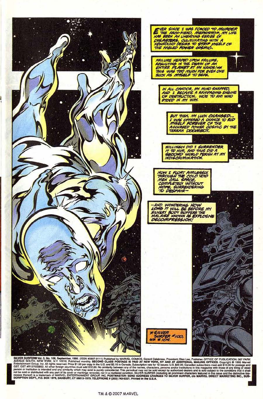 Silver Surfer (1987) Issue #108 #116 - English 3