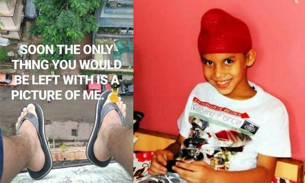 The Blue Whale Deadly Game Challenge'13-year-old Parth Singh