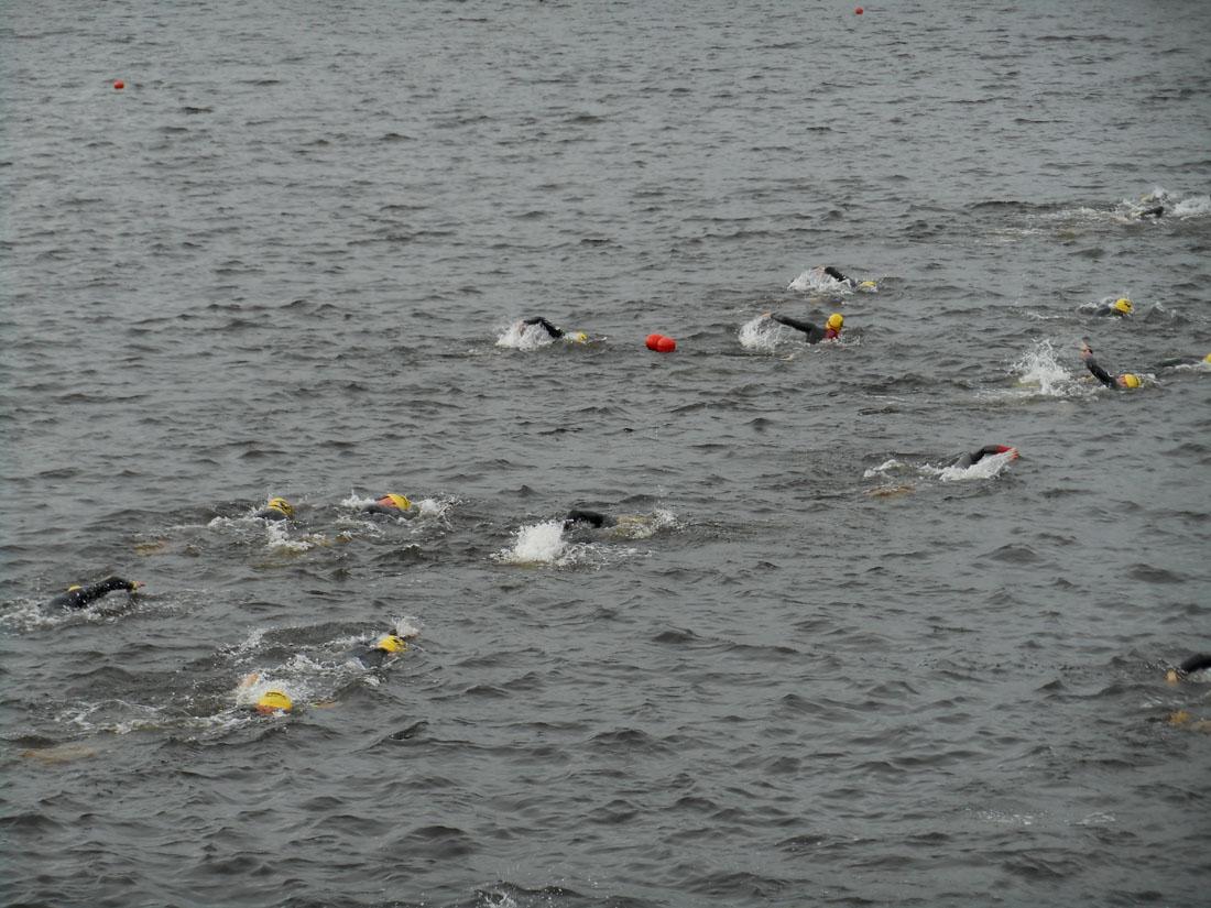 Ironman 70.3 Jönköping, frazione di nuoto