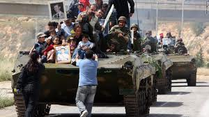 SYRIAN ARMY ON THE OFFENSIVE TO EXTERMINATE TRAITORS AND DESERTERS; 1