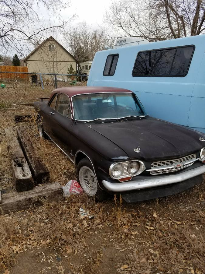 Daily Turismo: Banned In Nebraska: 1964 Chevrolet Corvair V8