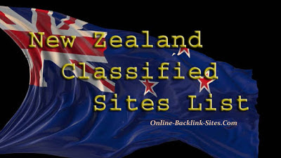 New Zealand Classified Sites List