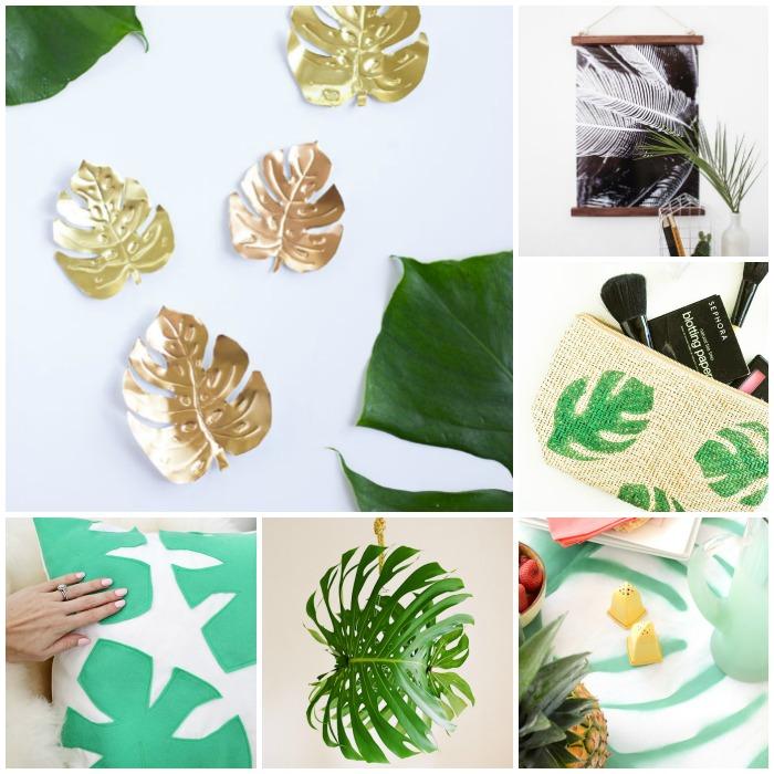 Decoración Fácil: 6 DIY con inspiración tropical