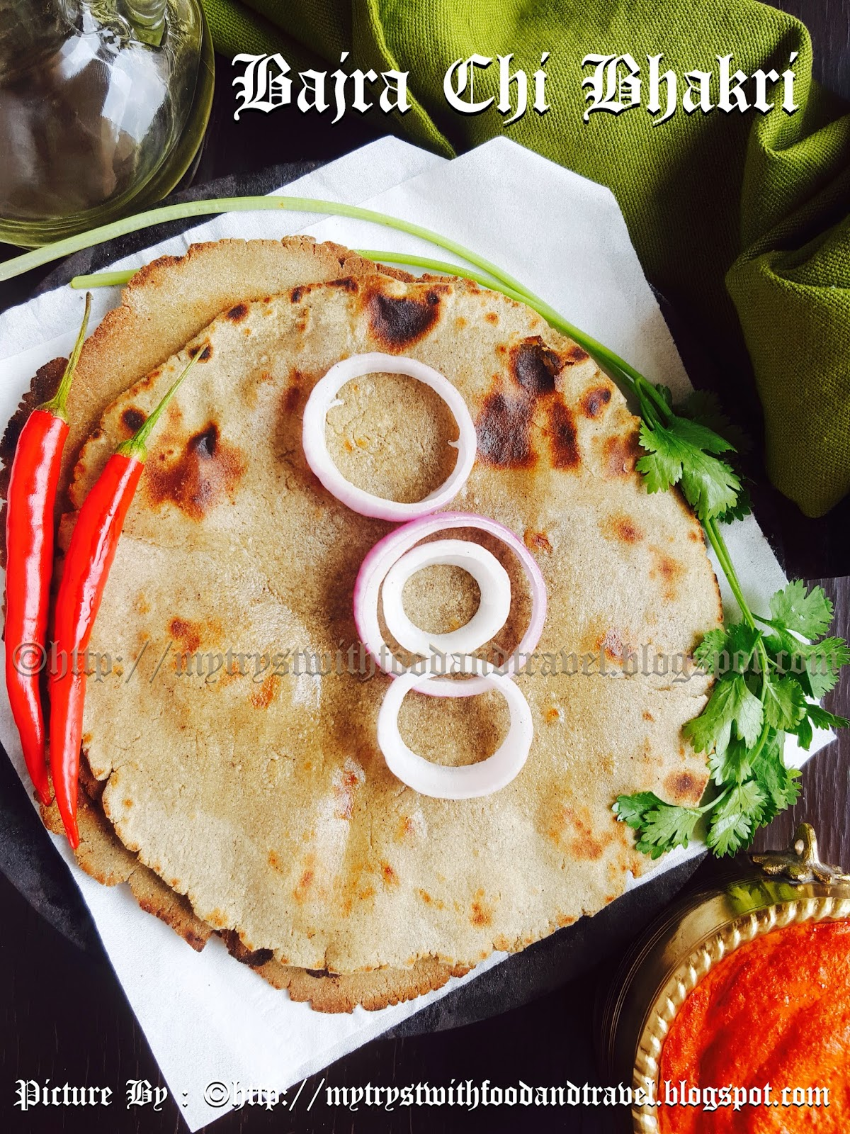 My tryst with food and travel bajra chi bhakri recipe bajra roti bajra chi bhakri recipe bajra roti recipe indian flat bread made with pearl millet flour recipe maharashtrian cuisine forumfinder Image collections