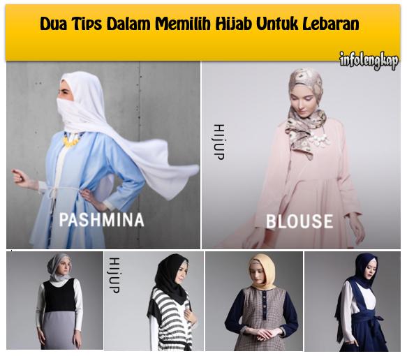 Dua Tips Dalam Memilih Hijab Untuk Lebaran