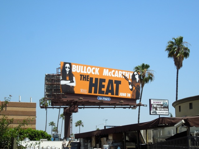 Heat movie billboard