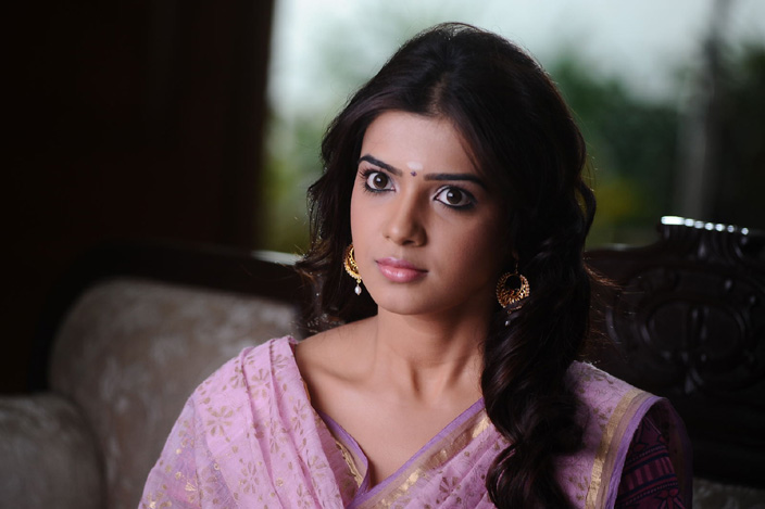 Tollywood Actress Samantha Cute Close Up Face