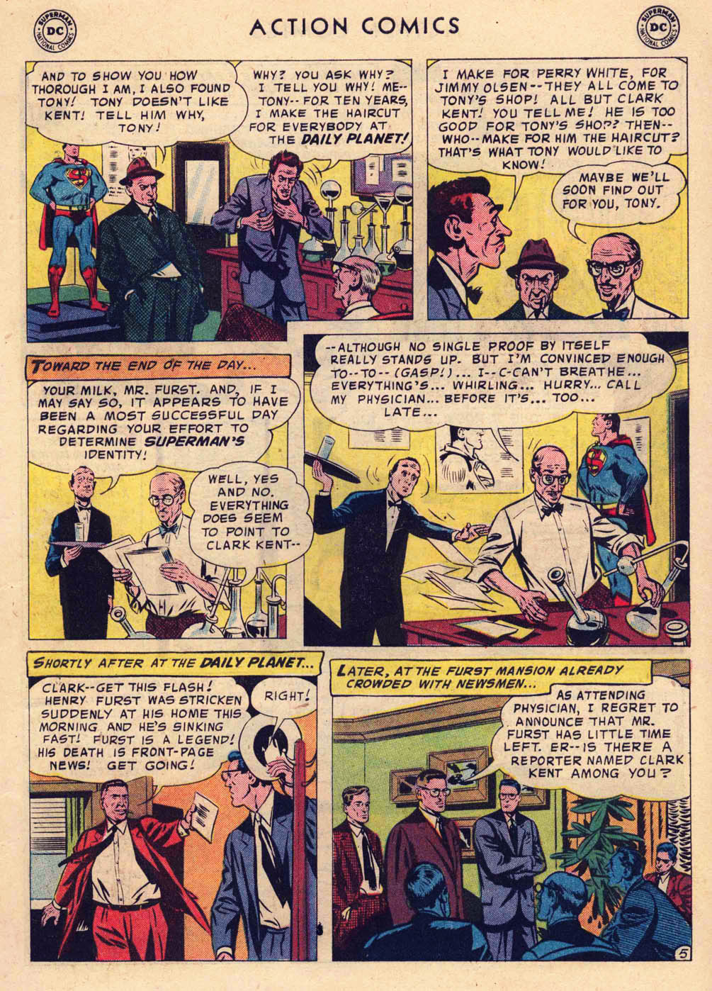 Read online Action Comics (1938) comic -  Issue #237 - 7