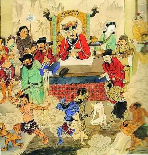 Hình ảnh Diêm Vương cai quản Quỷ Môn Quan.