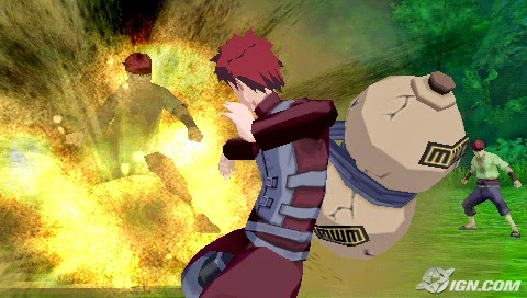 Naruto Shippuden: Legends Akatsuki Rising (USA) PSP ISO Screenshots #4