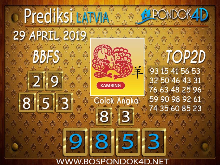 Prediksi Togel LATVIA PONDOK4D 29 APRIL 2019