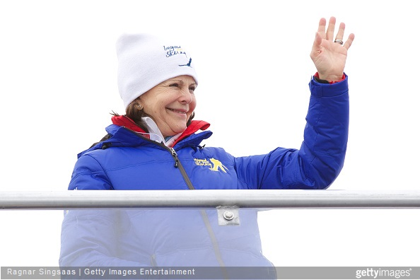 Queen Silvia of Sweden attends the FIS Nordic World Ski Championships