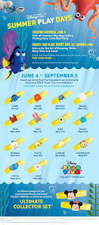 disney store 2016 sumer play days wristbands bracelets