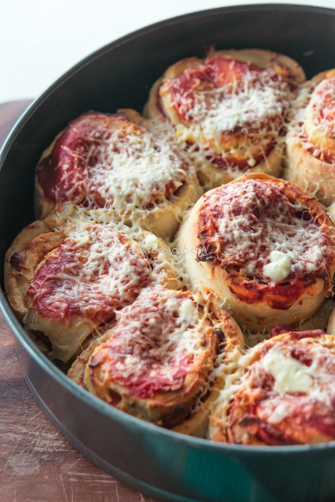 Enamórate de nuevo con estos Pizza Rolls