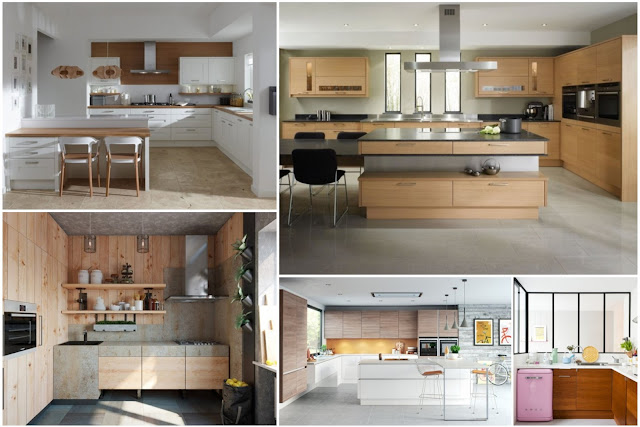 The Most Beautiful Designs Of Modern Wooden Kitchens