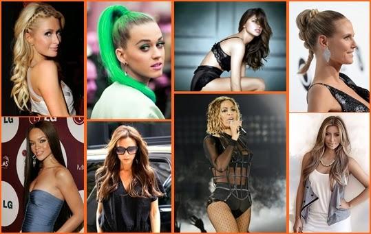 Prominenten Haarfrisur 2014