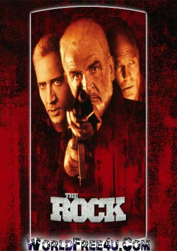 Poster Of The Rock (1996) In Hindi English Dual Audio 300MB Compressed Small Size Pc Movie Free Download Only At worldfree4u.com