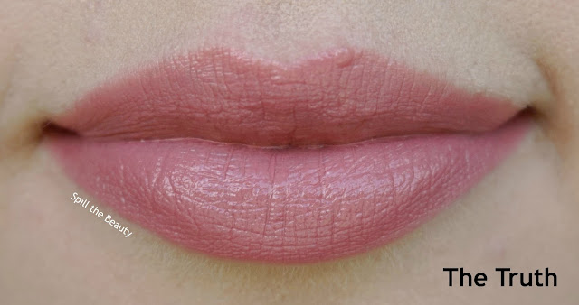 lipstick queen nothing but the nudes the truth the whole truth nothing but the truth review swatches giveaway the truth - lips