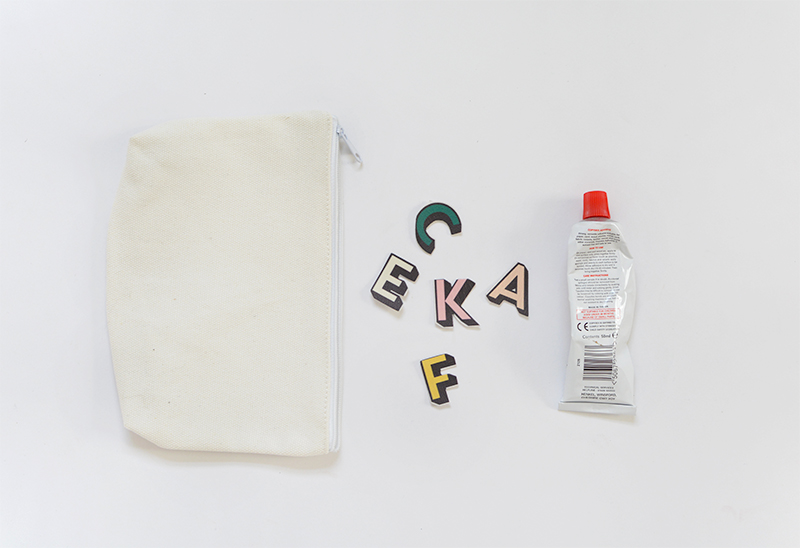 customized make up bag @burkatron