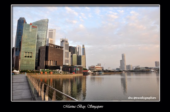 marina bay, marina bay sand, singapore flyer, singapore, olympic walk, merlion statue, singapore morning view