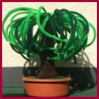 Arbusto amigurumi
