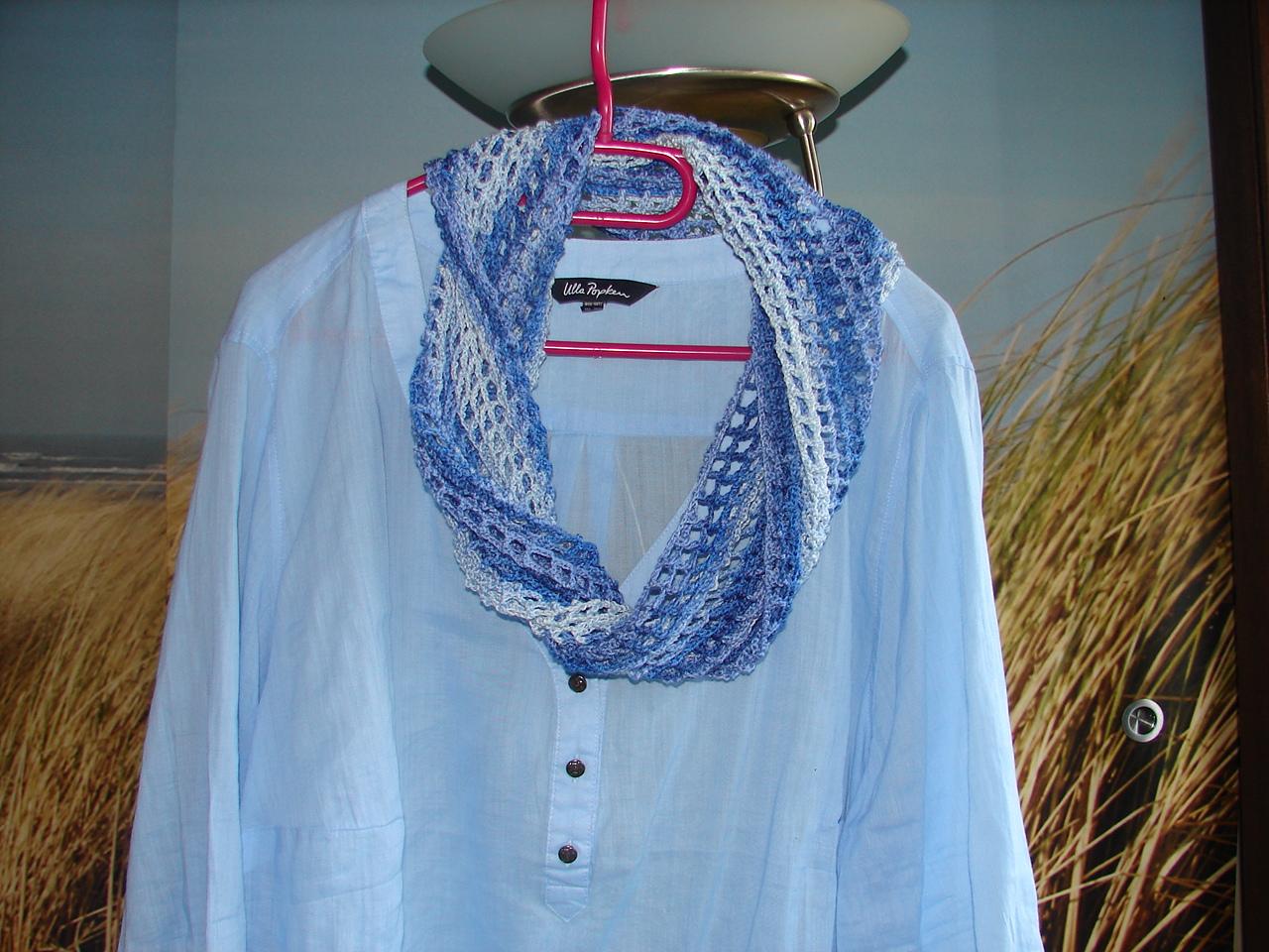 Bodenseegarten Einfacher Loop Schal Für Den Sommer