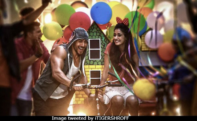 Tiger Shroff and Disha Patani in a Video Song
