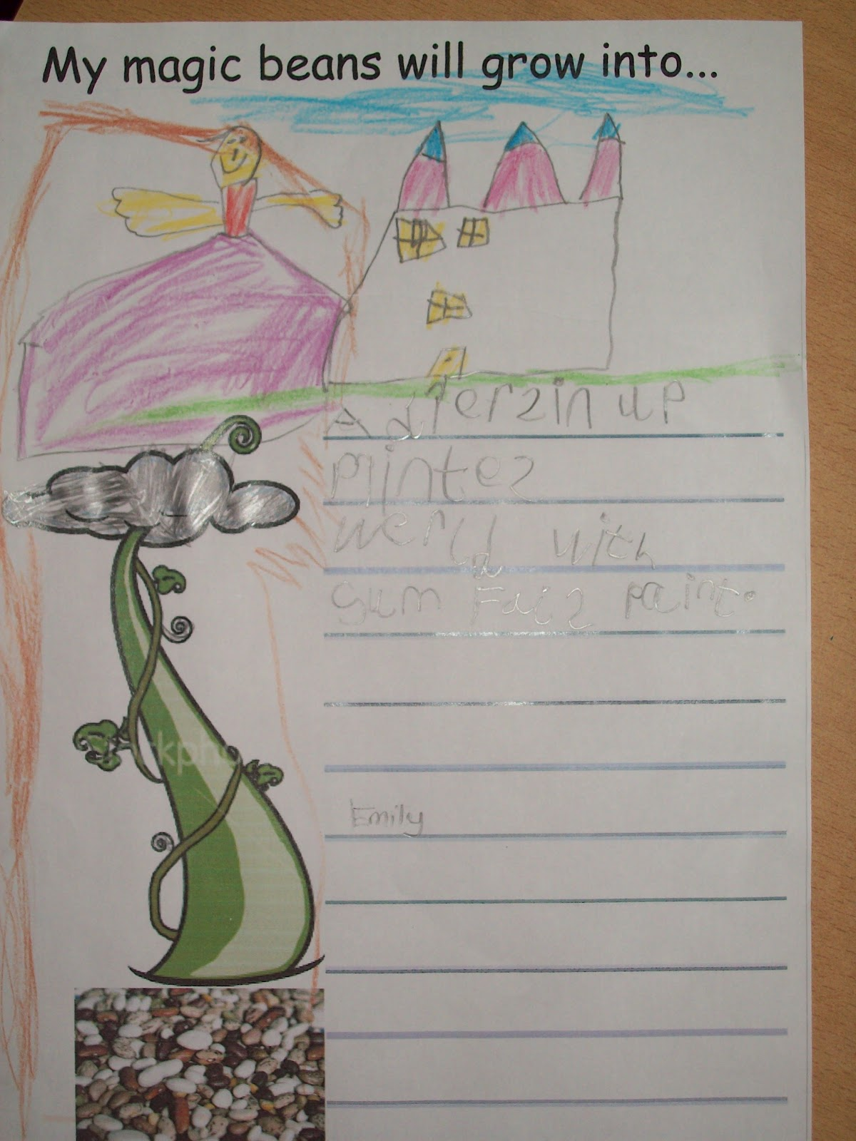 Fs2 Blogspot Jack And The Beanstalk Writing
