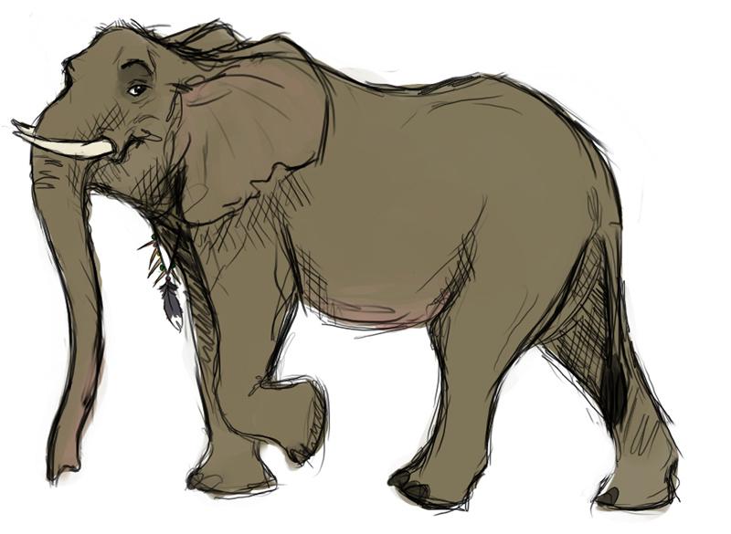 Reasons To Be Cheerful: Cartoon elephants