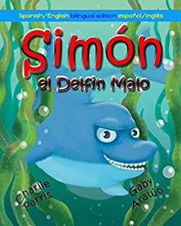 Simon el Delfin Malo (Spanish Edition)
