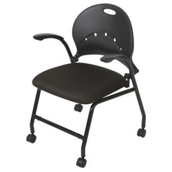 Nesting Chair with Flip Up Seat