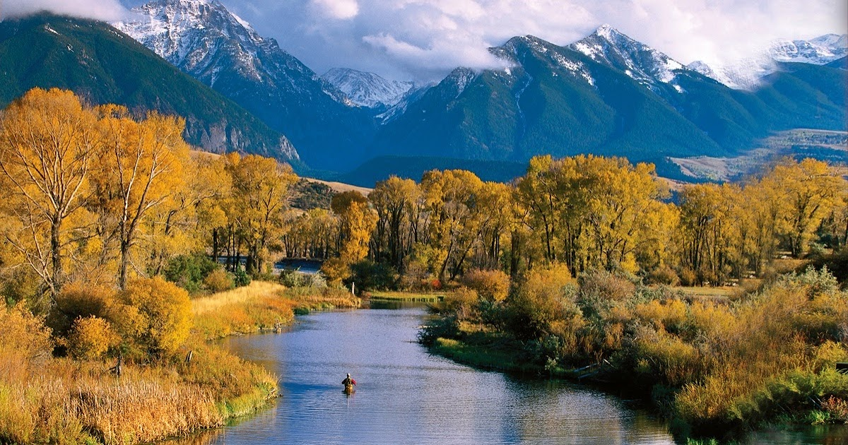 Bing Hd Wallpaper Fall Awakenings Montana Embrace The Wilderness