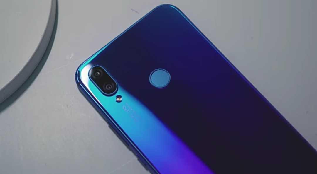 The Huawei's Nova 3i Dual Back Facing Cameras