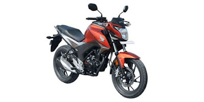 New Honda CB Hornet 160R orange image