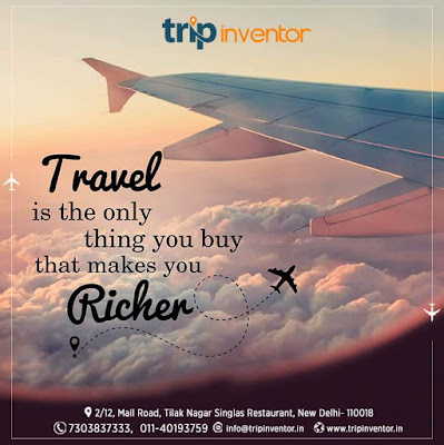 Travel Makes you Richer - Trip inventor