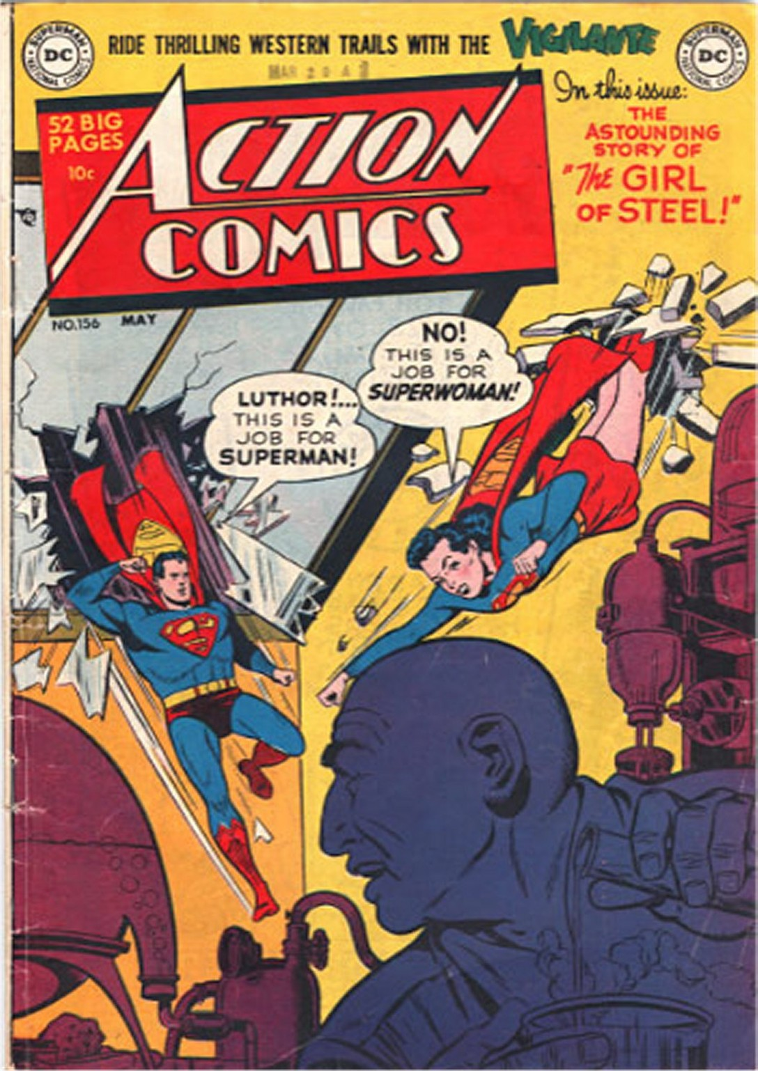 Read online Action Comics (1938) comic -  Issue #156 - 1