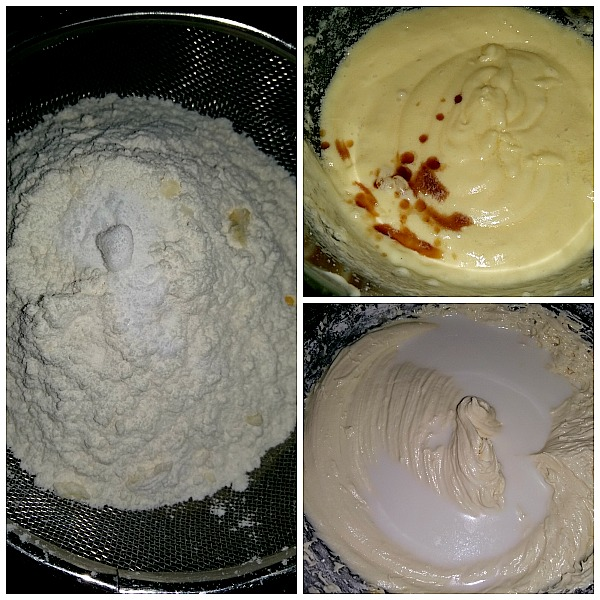 Step by Step Pictures of how to make Tea Cake Sponge Cake