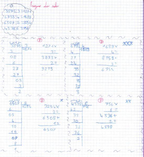 Favoloso didattica matematica scuola primaria: Divisioni in colonna (parte  LF44